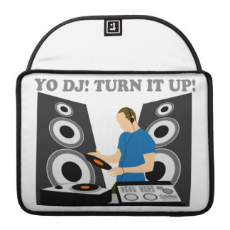 Yo DJ, Turn It Up Sleeves For MacBooks