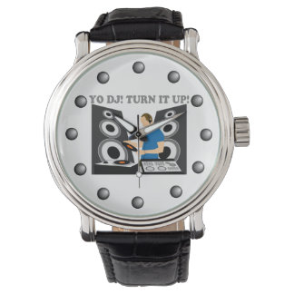 Yo DJ, Turn It Up Wrist Watch