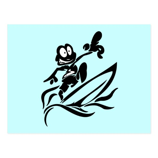 Yo Dude Surfing T shirts and Gifts Postcard