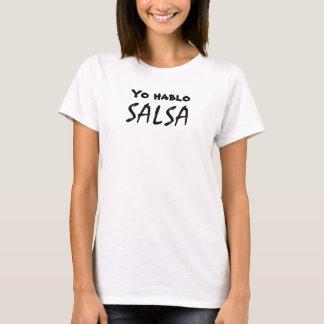 Yo Hablo Salsa Funny Salsa Dancing Dancewear Shirt