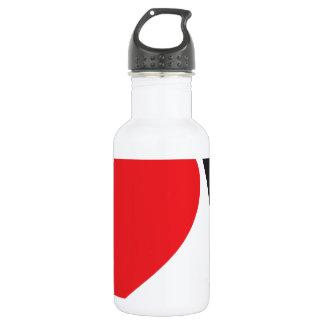 Yo heart You (I love you) 532 Ml Water Bottle