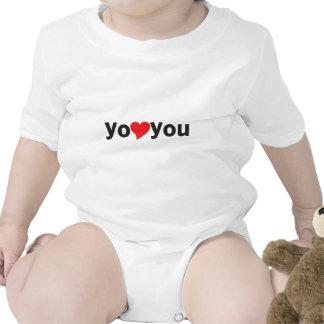 Yo heart You (I love you) Baby Bodysuits