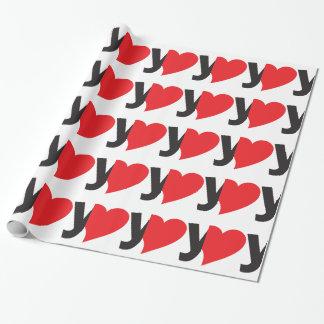 Yo heart You (I love you) Gift Wrap