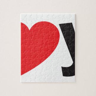 Yo heart You (I love you) Jigsaw Puzzle