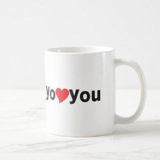 Yo heart You (I love you) Mug