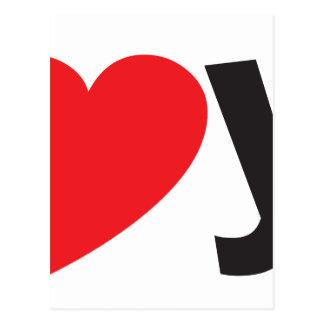 Yo heart You (I love you) Postcards
