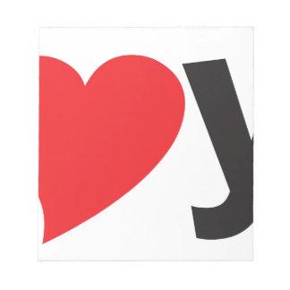 Yo heart You (I love you) Scratch Pad