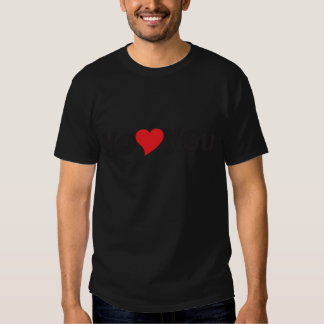 Yo heart You (I love you) T-shirts