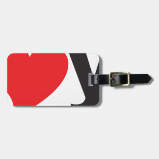 Yo heart You (I love you) Tag For Bags