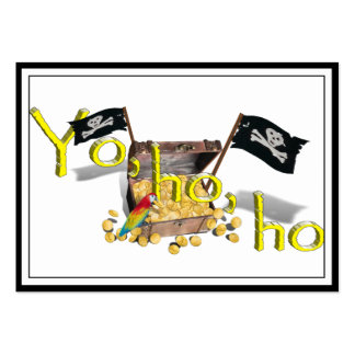 YO HO HO LARGE BUSINESS CARDS (Pack OF 100)