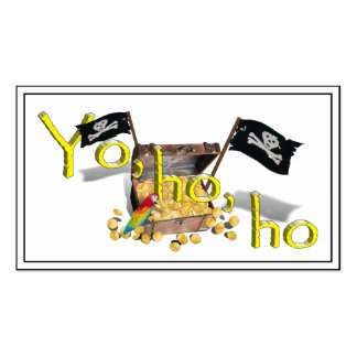 YO HO HO PACK OF STANDARD BUSINESS CARDS