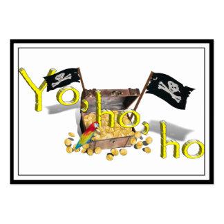 YO HO HO PACK OF CHUBBY BUSINESS CARDS