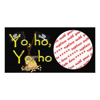 YO HO HO PICTURE CARD