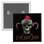 Yo Ho Ho Pirate Santa Pin