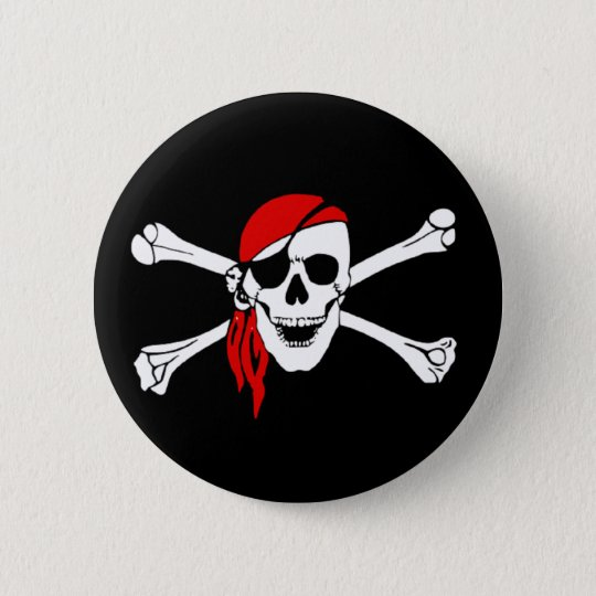 Yo Ho Pirate Button