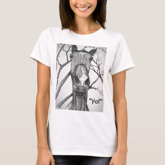 Yo! Horse Art T-Shirt