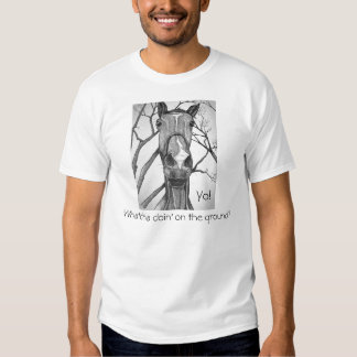 Yo! Horse Art Tee Shirts