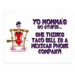 Yo Momma # 10 Postcard