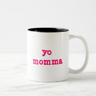 Yo Momma Two-Tone Coffee Mug