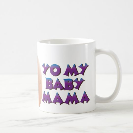 YO MY BABY MAMA - personalised with name