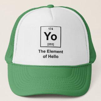 Yo! The Element of Hello Trucker Hat