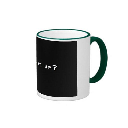 Yo What Up Mug