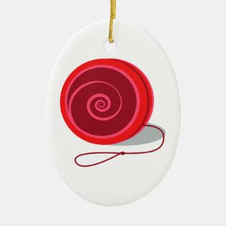 Yo-Yo Ceramic Oval Decoration