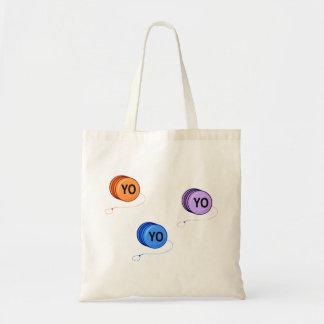 Yo Yo Yo Canvas Bags