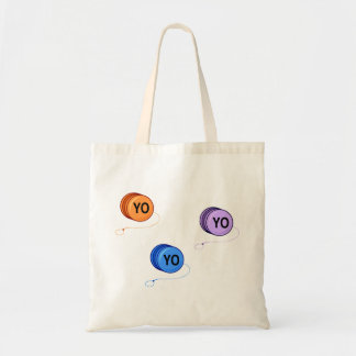 Yo Yo Yo Budget Tote Bag