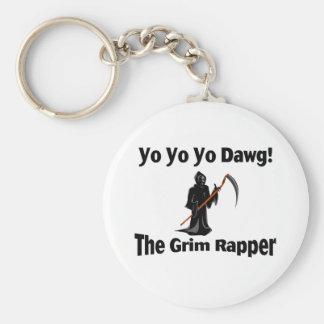 Yo Yo Yo Dawg Basic Round Button Key Ring