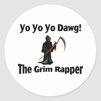 Yo Yo Yo Dawg Round Sticker