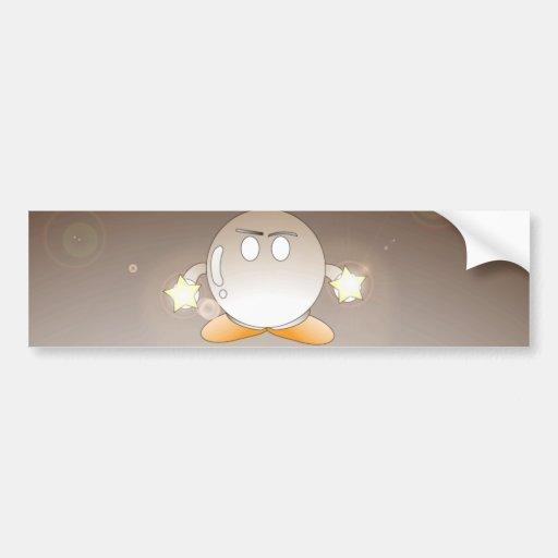 Yochami round bumper sticker