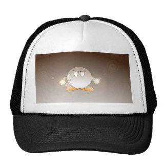 Yochami round mesh hats