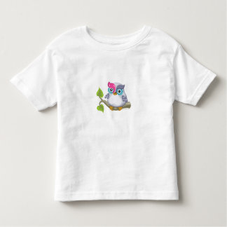 Yod the Owl, Hebrew Aleph Bet (Alphabet) Toddler T-Shirt