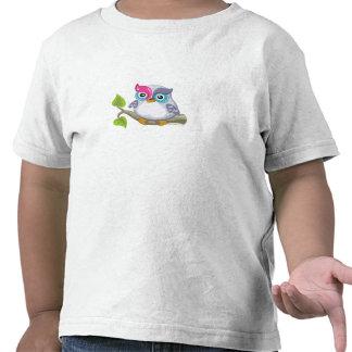 Yod the Owl, Hebrew Aleph Bet (Alphabet) Tshirts