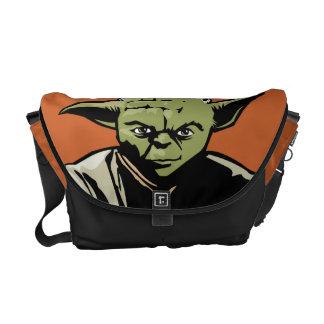 Yoda Art Icon Courier Bags