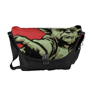 Yoda Pointing Courier Bags