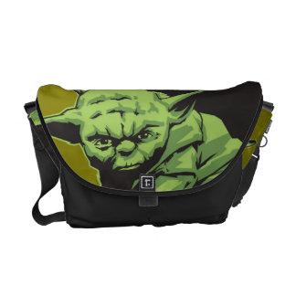 Yoda Posing A Commuter Bags