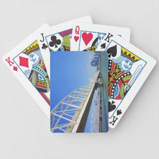 Yodogawa River Bicycle Playing Cards