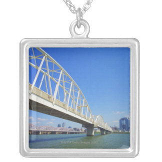 Yodogawa River Silver Plated Necklace