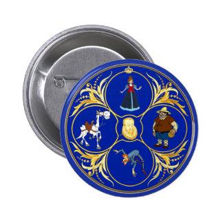 #YoEstrellaCervantes / www.estrellacervantes.es 6 Cm Round Badge