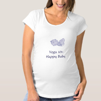 """Yoga 101: Happy Baby"" Shirt"