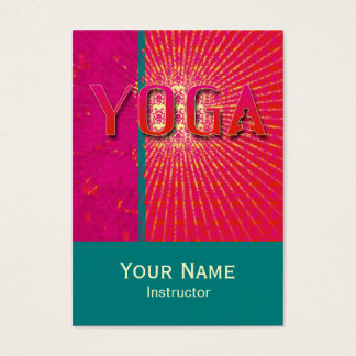 Yoga 1 - Business, Schedule Card