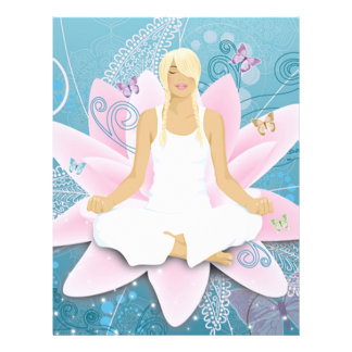yoga 21.5 cm x 28 cm flyer