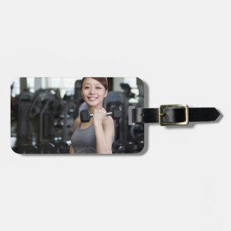Yoga 2 luggage tag