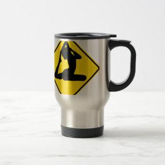 """""""Yoga 2"""" Travel Mug"""