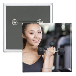 Yoga 6 15 cm square badge
