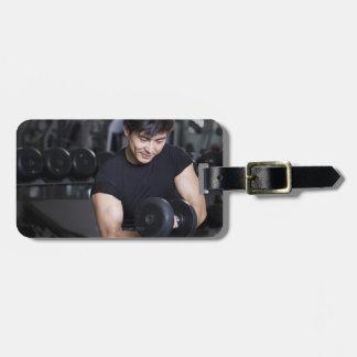 Yoga 7 luggage tag