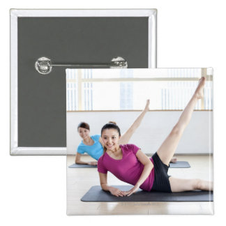 Yoga 8 15 cm square badge