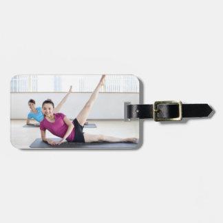 Yoga 8 luggage tag